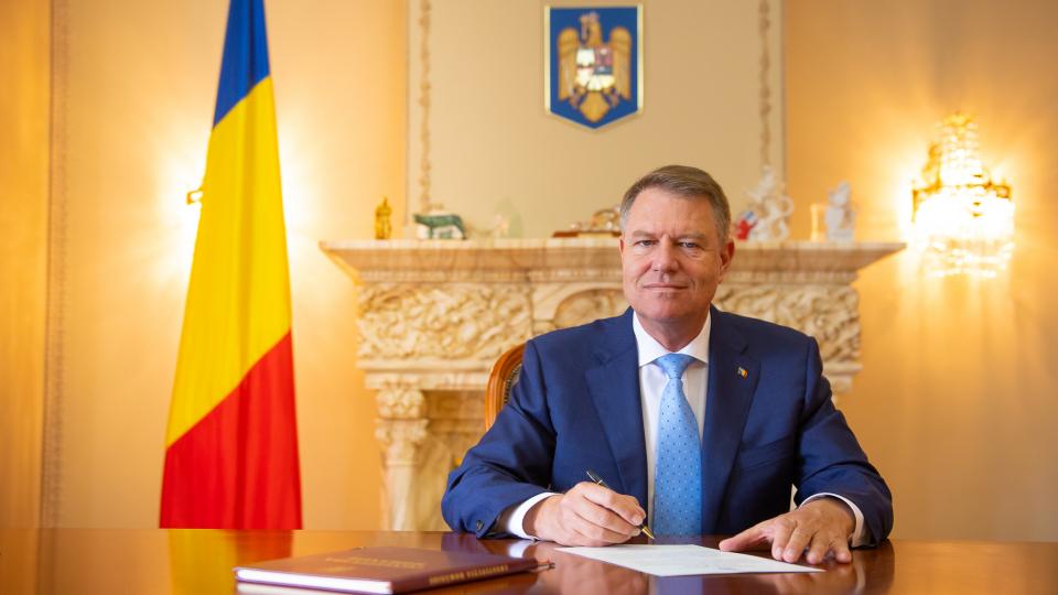 Președintele României Klaus Iohannis